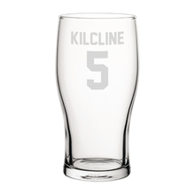 Load image into Gallery viewer, Coventry City Kilcline 5 Engraved Pint Glass-Engraved-The Terrace Store