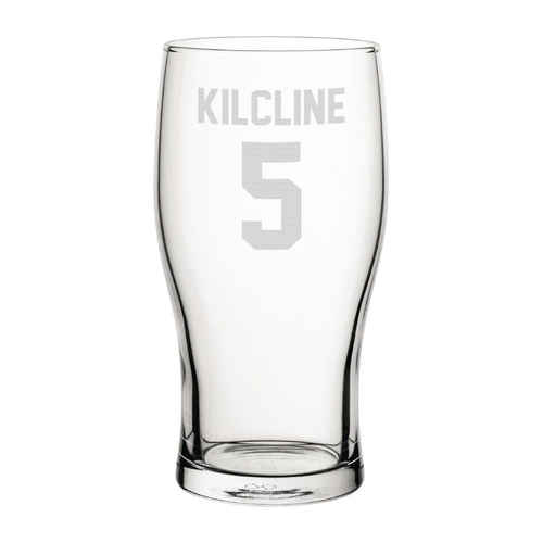 Coventry City Kilcline 5 Engraved Pint Glass-Engraved-The Terrace Store