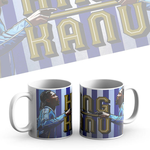 Grady Draws King Kanu Mug