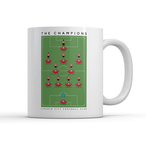 Lincoln City Champions Mug-Legends Mug-The Terrace Store