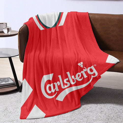 Liverpool 1995 Home Retro Blanket Throw