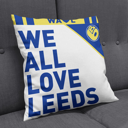 Burley Banksy Love Leeds Cushion