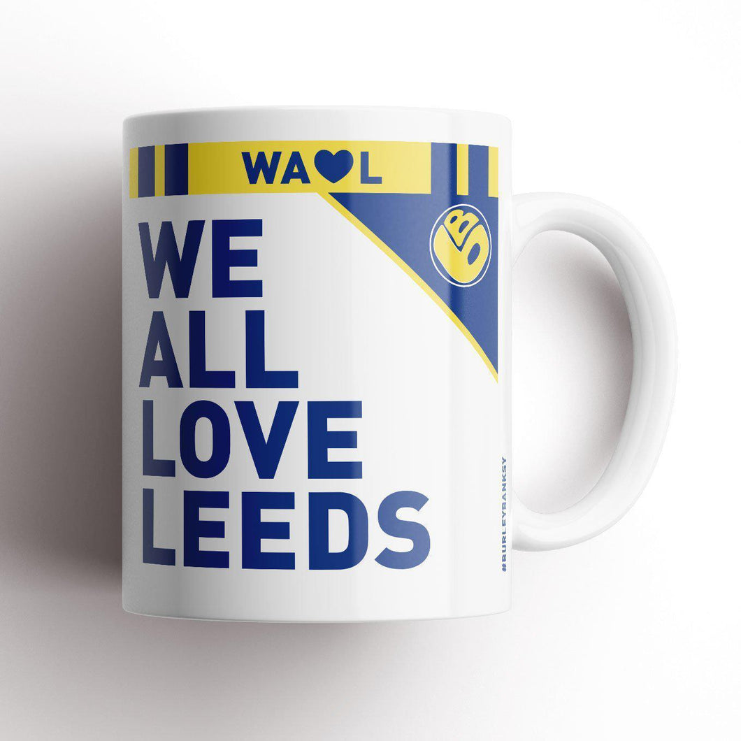 Burley Banksy Love Leeds Mug-Mugs-The Terrace Store
