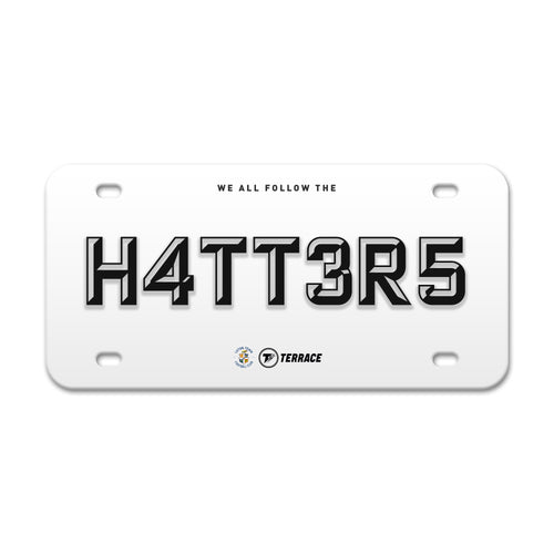 Luton Town Hatters License Plate