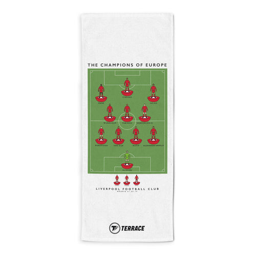Liverpool Champions League Winners Towel