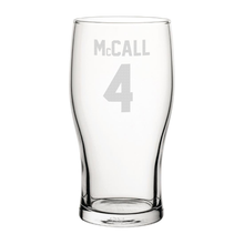 Load image into Gallery viewer, Bradford McCall 4 Engraved Pint Glass-Engraved-The Terrace Store
