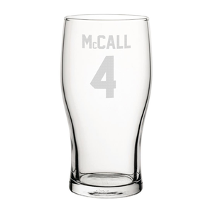 Bradford McCall 4 Engraved Pint Glass-Engraved-The Terrace Store