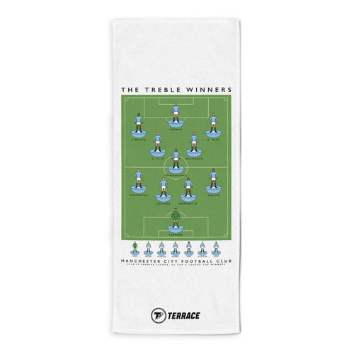 Man City Treble Towel
