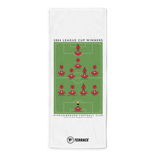 Middlesbrough League Cup Towel