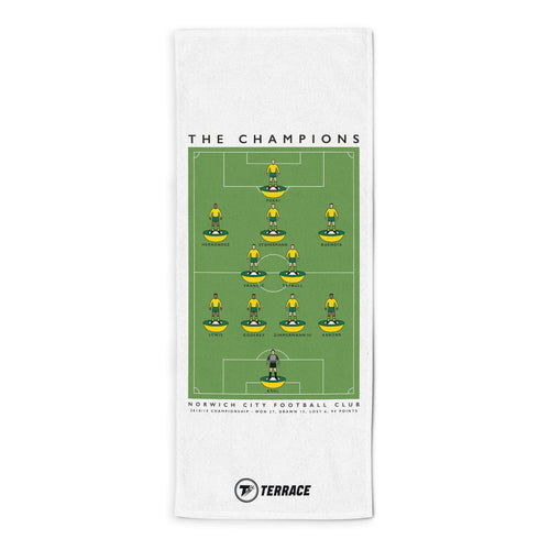 Norwich Champions Towel