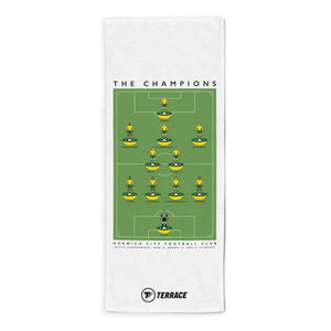 Norwich Champions Towel-Towels-The Terrace Store