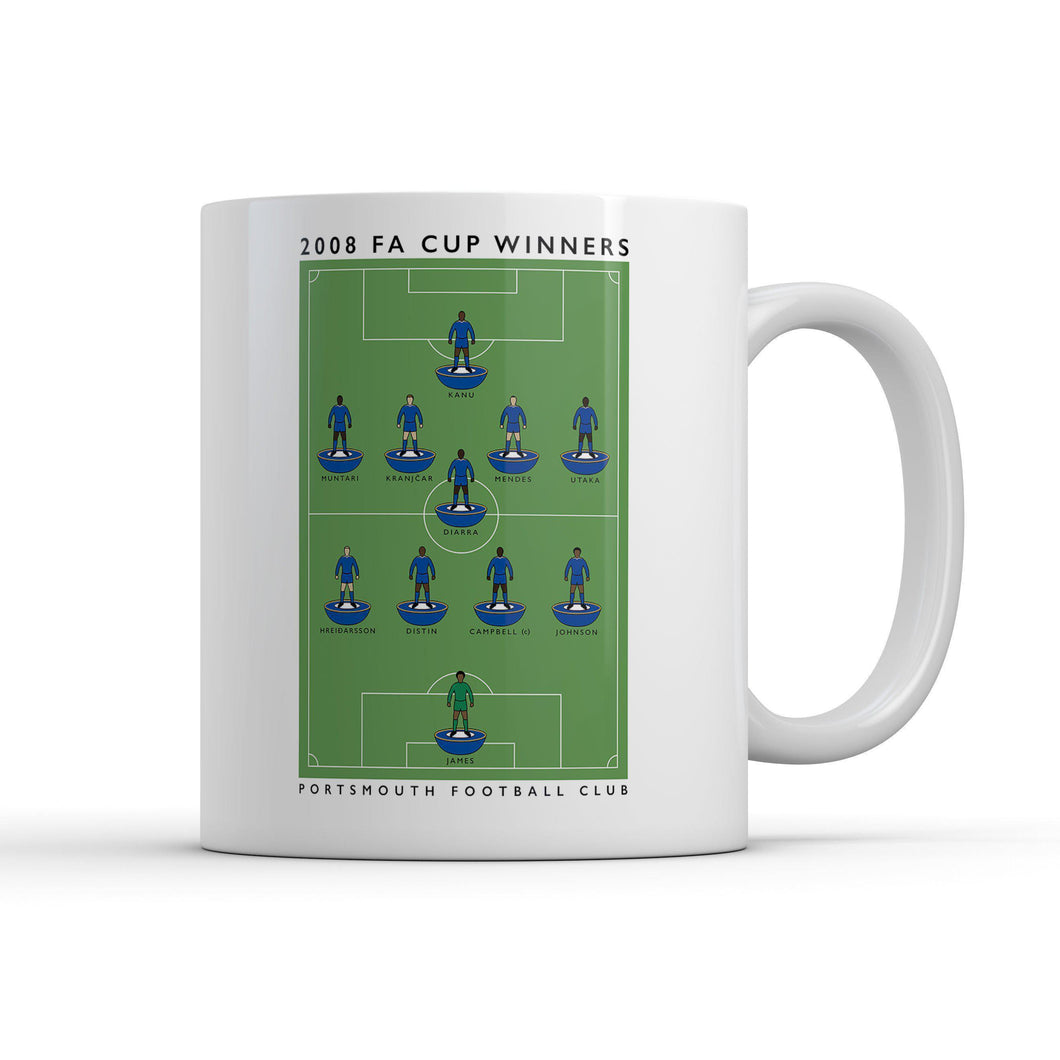Portsmouth FA Cup Winners Mug-Legends Mug-The Terrace Store