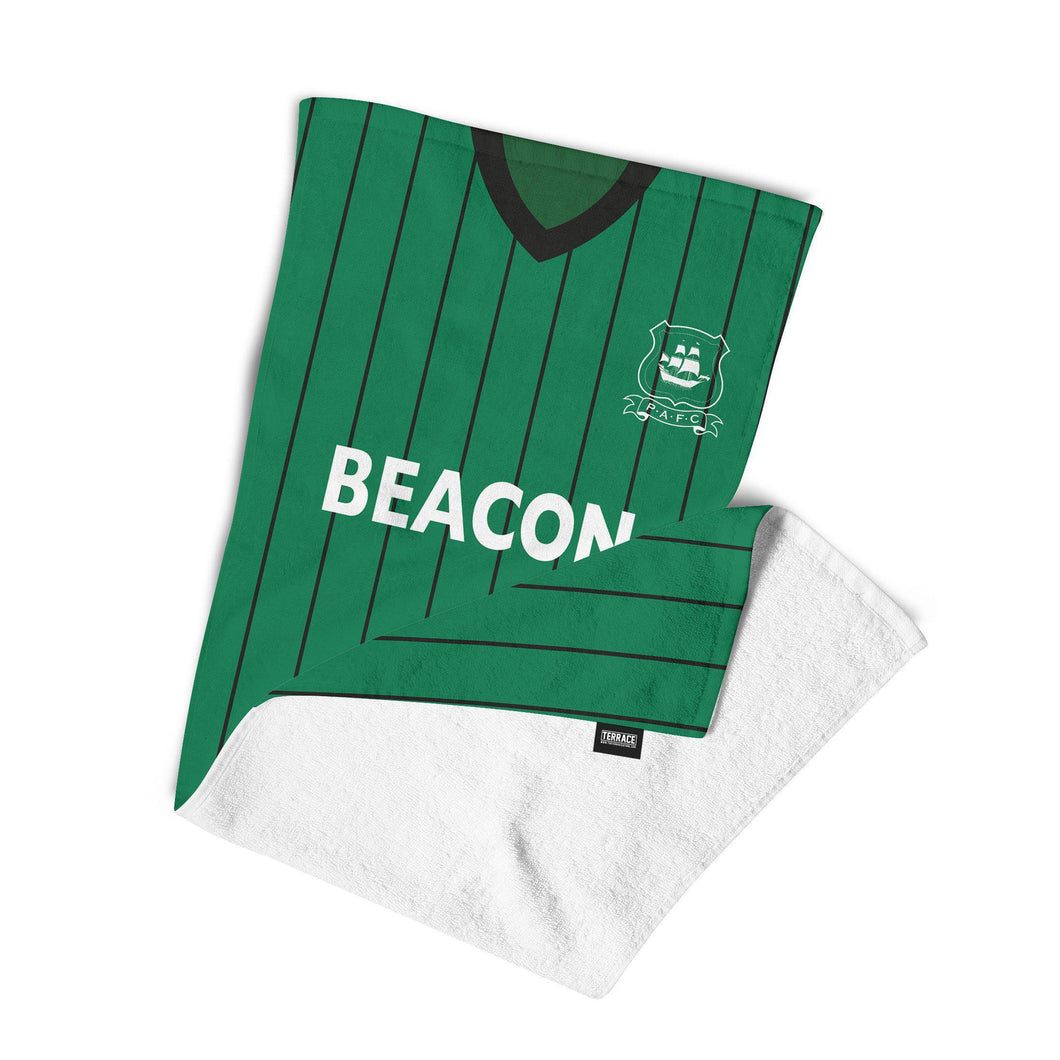 Plymouth Argyle 1984 Beach Towel-Towels-The Terrace Store