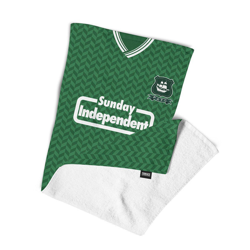 Plymouth Argyle 1988 Beach Towel-Towels-The Terrace Store