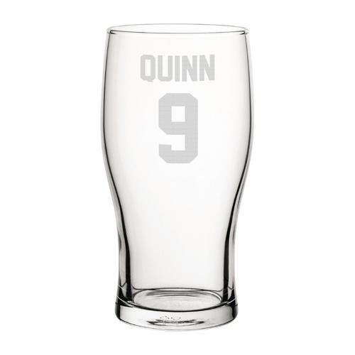 Sunderland Quinn 9 Engraved Pint Glass