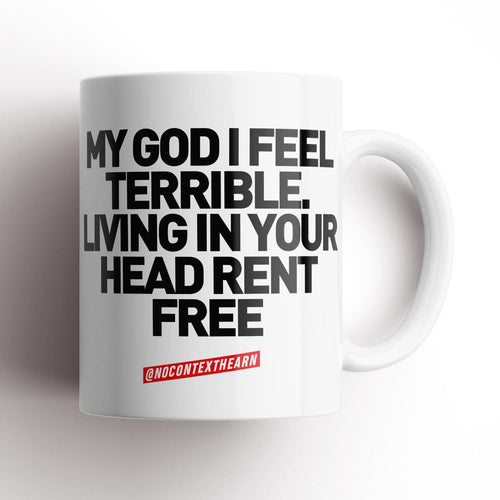 Rent Free Mug-NCH MUG-The Terrace Store