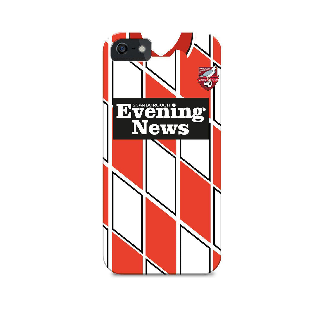Scarborough Athletic 1992 Home Phone Case-CASES-The Terrace Store