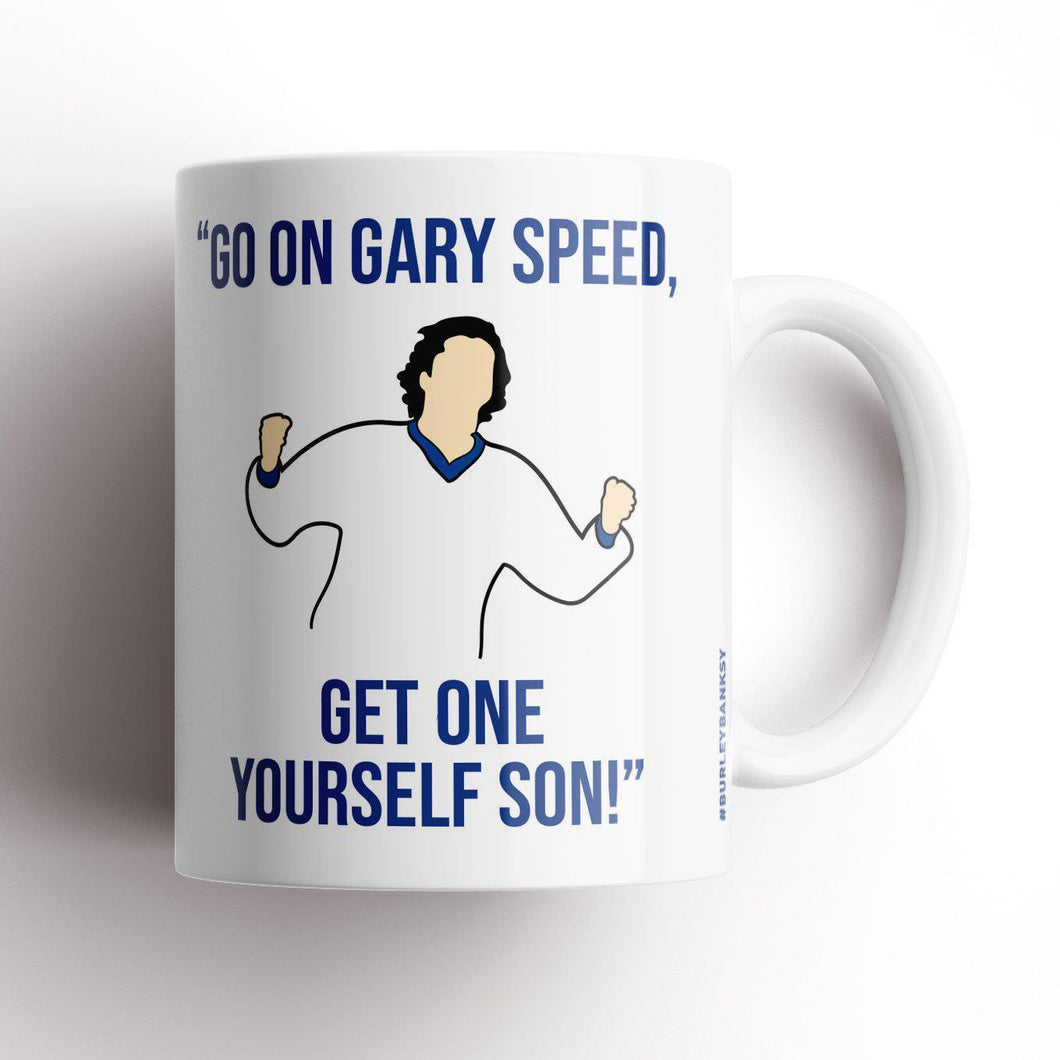 Leeds Burley Banksy Gary Speed Mug-Mugs-The Terrace Store