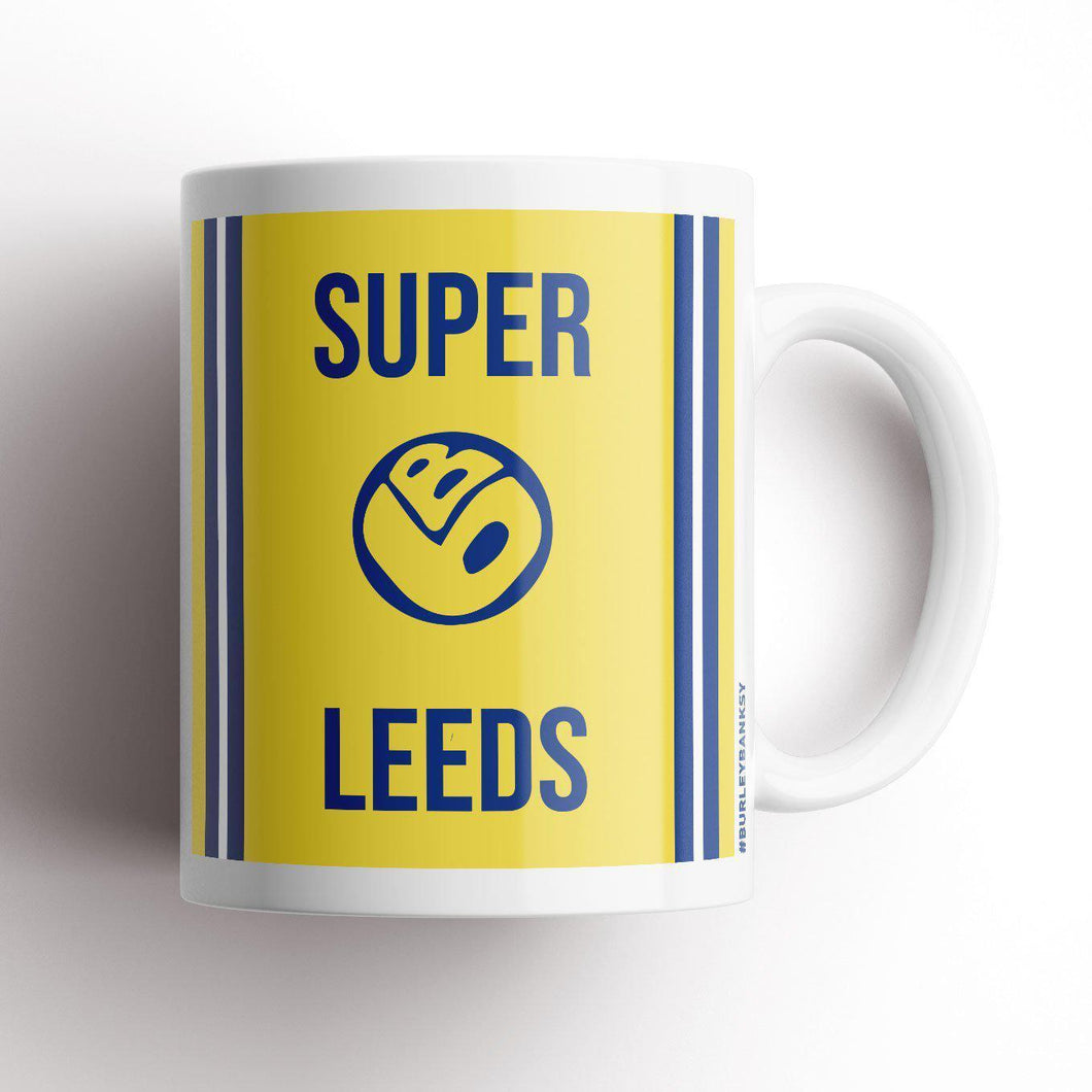Burley Banksy Super Leeds Mug-Mugs-The Terrace Store