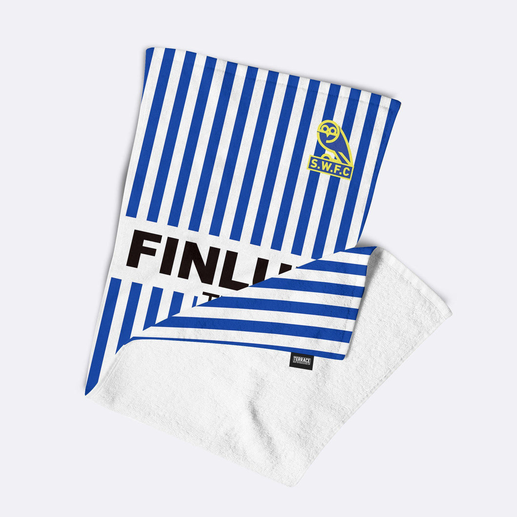 Official Sheffield Wednesday '88 Home Beach Towel