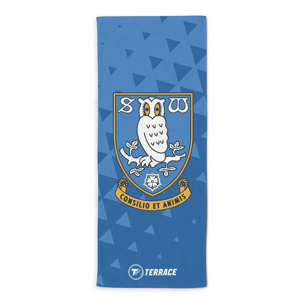 Sheffield Wednesday Club Badge Beach Towel-Towels-The Terrace Store
