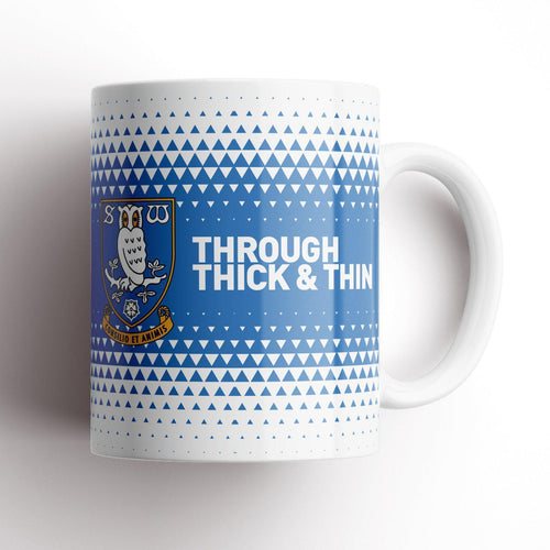 Sheffield Wednesday Thick and Thin Mug-Mugs-The Terrace Store