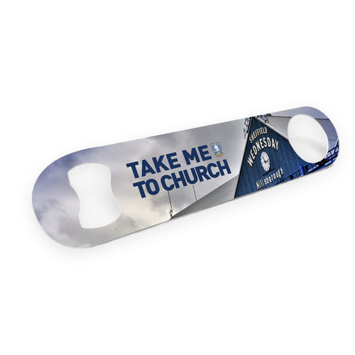 Sheffield Wednesday Take Me To Church Bar Blade