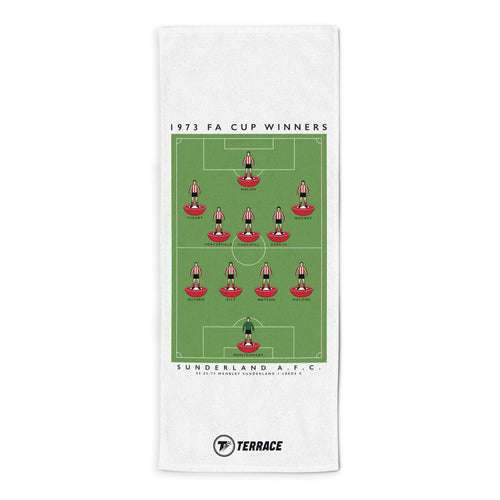 Sunderland FA Cup Towel-Towels-The Terrace Store