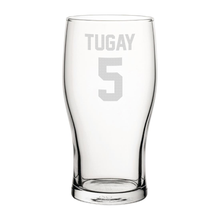 Load image into Gallery viewer, Blackburn Tugay 5 Engraved Pint Glass-Engraved-The Terrace Store