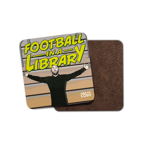 Undr The Cosh Library Coaster
