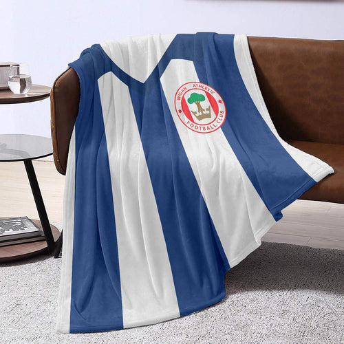 Wigan Athletic 1982 Blanket Throw