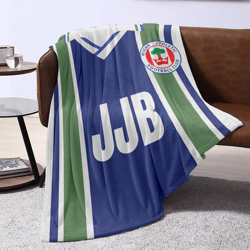 Wigan Athletic 1996 Blanket Throw