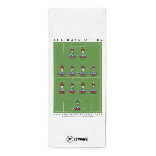 West Ham Boys of 86 Towel