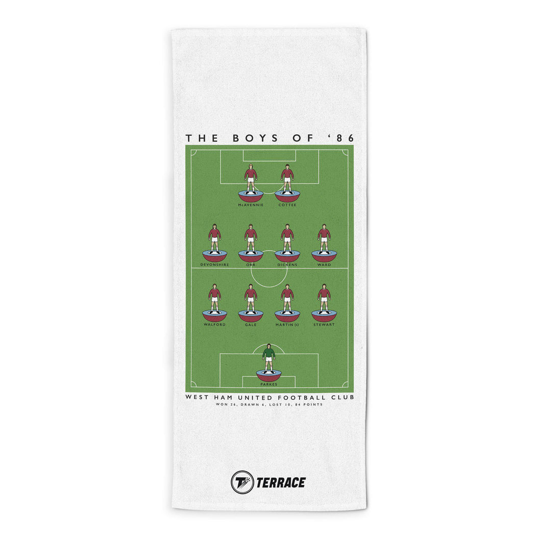 West Ham Boys of 86 Towel-Towels-The Terrace Store