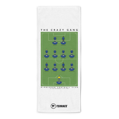 Wimbledon Crazy Gang Towel-Towels-The Terrace Store