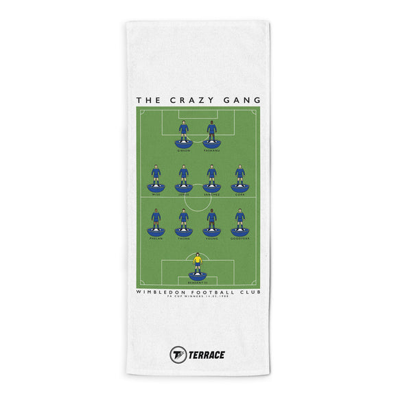 Wimbledon Crazy Gang Towel