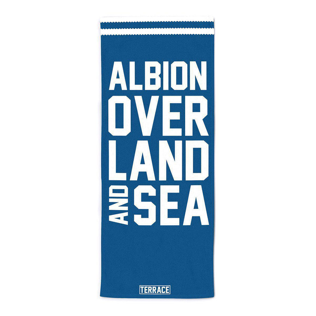 Albion Over Land & Sea Beach Towel-Towels-The Terrace Store