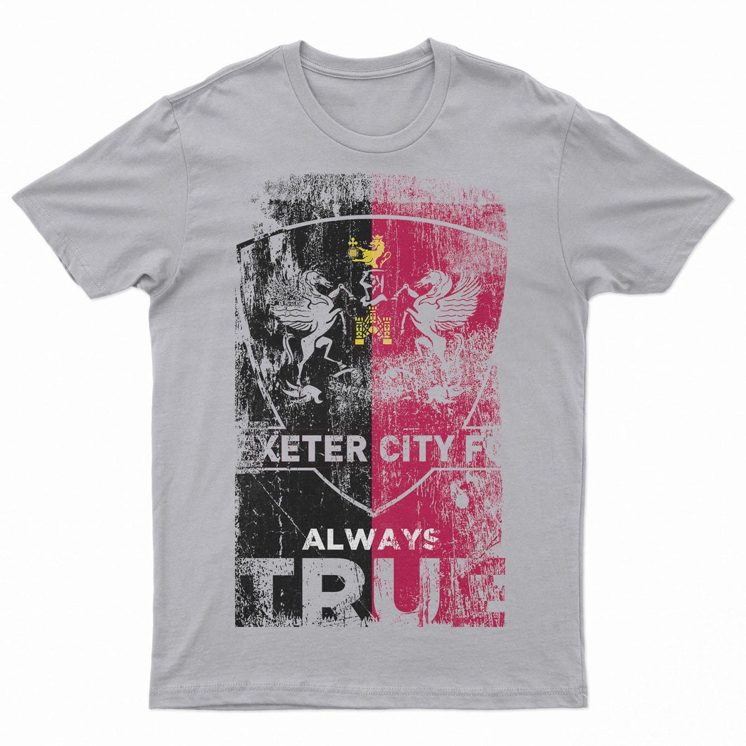 Always True Grey T Shirt-T Shirt-The Terrace Store