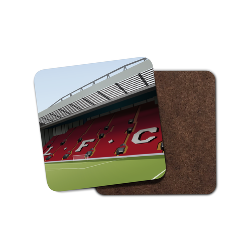 Anfield Illustrated Coaster-Coaster-The Terrace Store