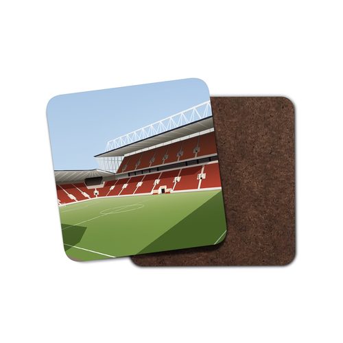 Ashton Gate Illustrated Coaster