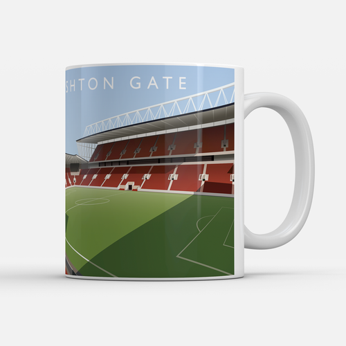 Ashton Gate Illustrated Mug-Mugs-The Terrace Store