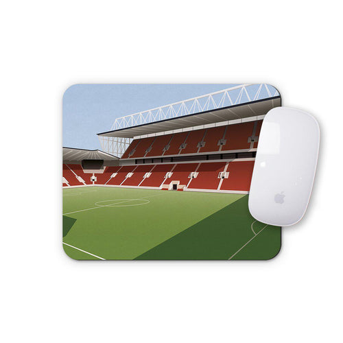 Ashton Gate Illustrated Mouse Mat-Mouse mat-The Terrace Store