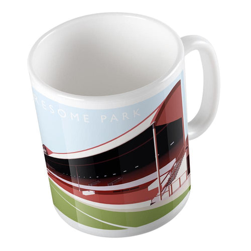 Ayresome Park Illustrated Mug-Mugs-The Terrace Store