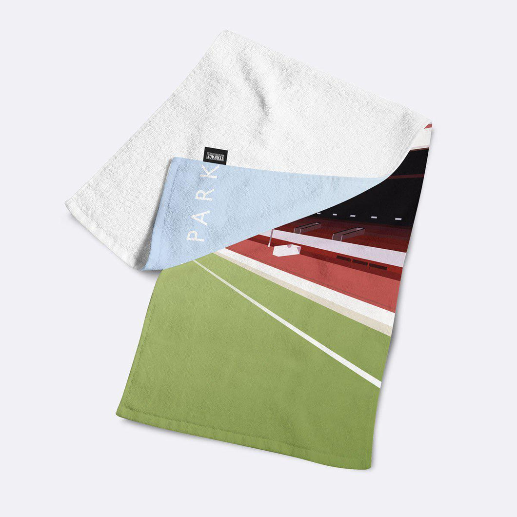 Ayresome Park Illustrated Towel-Towels-The Terrace Store
