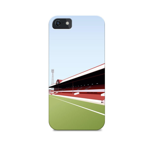 ayresome park illustrated phone case