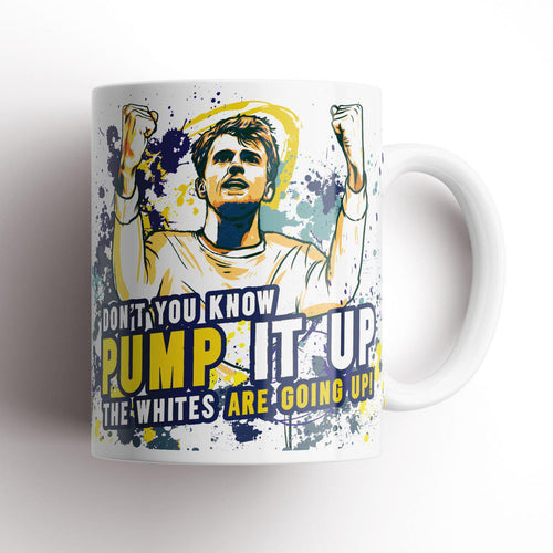 Grady Draws Leeds Bamford Pump It Up Mug