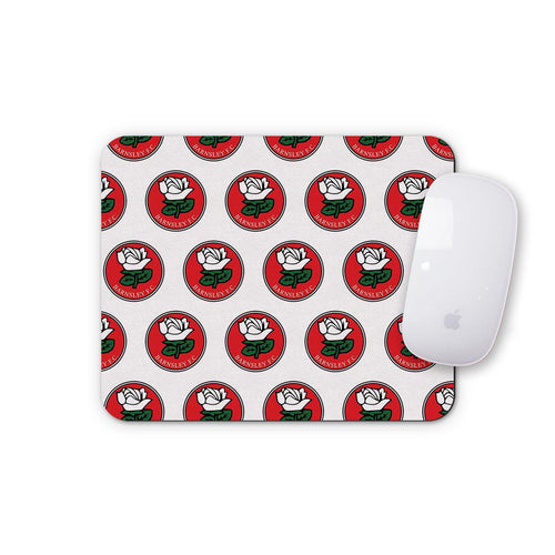 Barnsley Retro Crest Mouse Mat-Mouse mat-The Terrace Store
