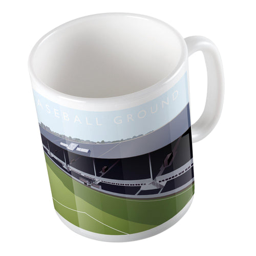 Baseball Ground Illustrated Mug-Mugs-The Terrace Store
