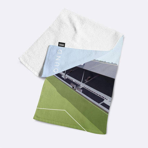 Baseball Ground Illustrated Towel-Towels-The Terrace Store