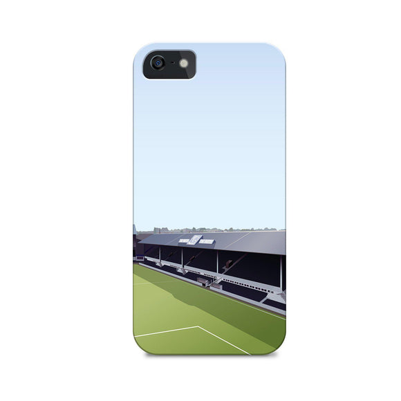 derby baseball ground illustrated phone case